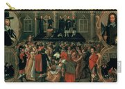An Eyewitness Representation Of The Execution Of King Charles I Carry-all Pouch