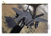 An F-15 Strike Eagle Prepares Carry-all Pouch