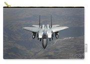 An F-15e Strike Eagle Flies Watch Carry-all Pouch