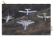 An F-16 Fighting Falcon, F-15 Eagle Carry-all Pouch by Stocktrek Images