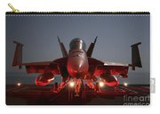 An Fa-18f Super Hornet Parked Carry-all Pouch