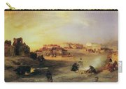 An Indian Pueblo Carry-all Pouch by Thomas Moran