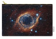 A Look In Infrared At The Helix Nebula Carry-all Pouch