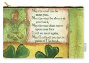 An Irish Blessing Carry-all Pouch