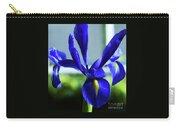 An Irish Iris Carry-all Pouch