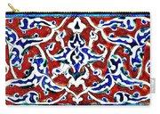 An Iznik Polychrome Pottery Tile, Turkey Circa 1580, By Adam Asar, No 18b Carry-all Pouch