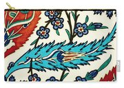 An Iznik Polychrome Tile, Turkey, Circa 1575, By Adam Asar, No  25a Carry-all Pouch