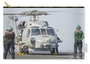 An Mh-60r Seahawk Embarked Aboard Uss Carry-all Pouch