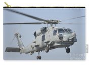 An Mh-60r Seahawk In Flight Carry-all Pouch