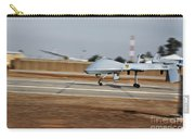 An Mq-1c Sky Warrior Uav Lands At Camp Carry-all Pouch by Stocktrek Images
