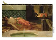 An Odalisque In A Harem Carry-all Pouch by Benjamin Constant