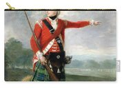 An Officer Of The Light Company Of The 73rd Highlanders Carry-all Pouch