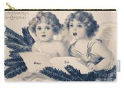 An Old Fashioned Christmas Greeting Carry-all Pouch by Chris Armytage