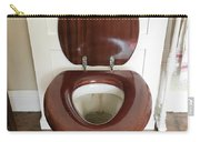 An Old Toilet Carry-all Pouch
