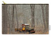 An Old Truck In The Woods. Carry-all Pouch