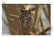 An Owl Carry-all Pouch