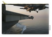 An S-3b Viking Clears The Flight Deck Carry-all Pouch by Stocktrek Images