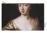 An Unknown Young Lady Carry-all Pouch