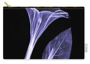 An X-ray Of A Datura Flower Carry-all Pouch