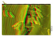 Anaglyph Of Infected Lettuce Leaf Carry-all Pouch