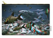Anaglyph Whales Carry-all Pouch