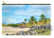 Anakena At Easter Island Carry-all Pouch