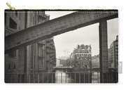 Analog Black And White Photography - Hamburg - Speicherstadt Carry-all Pouch