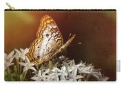 Anartia Jatrophae - White Peacock Butterfly  Carry-all Pouch