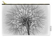 Anatomy Of A Weed Monochrome Carry-all Pouch