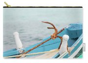 Anchor On A Boat In Maldives Carry-all Pouch