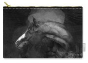 Ancient Black Horse No 1 Carry-all Pouch