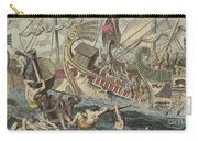 Ancient Greek Sea Battle Carry-all Pouch