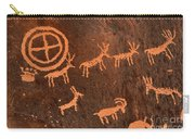 Ancient Indian Petroglyphs Carry-all Pouch