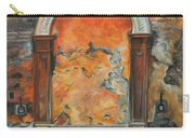 Ancient Italian Fountain Carry-all Pouch by Charlotte Blanchard