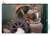 Model Of Ancient Water Mill In Greece  Carry-all Pouch
