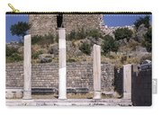 Ancient Pergamon Column Ruins Carry-all Pouch