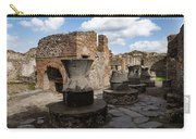 Ancient Pompeii - Bakery Of Modestus Millstones And Bread Oven Carry-all Pouch