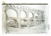 Ancient Roman Aqueducts Carry-all Pouch