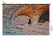 Ancient Ruins Mystery Valley Colorado Plateau Arizona 05 Text Carry-all Pouch