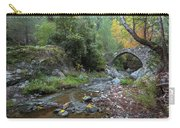 Ancient Stone Bridge Of Elia, Cyprus Carry-all Pouch