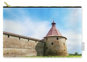 Ancient Wall And Tower Of The Fortress Oreshek Carry-all Pouch