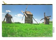 Ancient Windmills In Field Carry-all Pouch