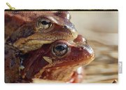 And Then I Found You. European Common Brown Frog Carry-all Pouch