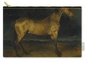 Andre Theodore Gericault   A Horse Frightened By Lightning Carry-all Pouch