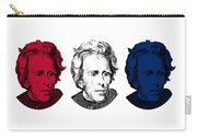 Andrew Jackson Red White And Blue Carry-all Pouch