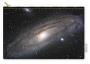 Andromeda Galaxy Lightened Carry-all Pouch