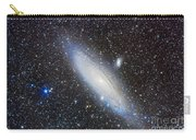 Andromeda Galaxy With Companions Carry-all Pouch