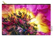 Anemone Abstracted In Fuchsia Carry-all Pouch