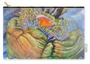 Anemone Coral And Fish Carry-all Pouch