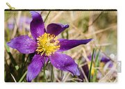Anemone Pulsatilla Carry-all Pouch